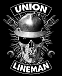 Size-3XL-Union-Lineman-Color-Black-Made-in-U.S.A.-Free-Delivery